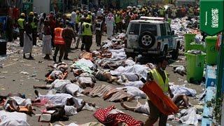 サウジアラビアのイスラム教聖地メッカ近郊で2015年9月24日、儀式の最中...