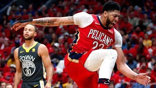 Rondo 21 Asts! Davis 33 Points! Pelicans Win Game 3! 2018 NBA Playoffs
