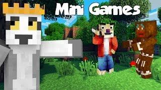 Król Julian, Sid & Ciastek - Minecraft MiniGames