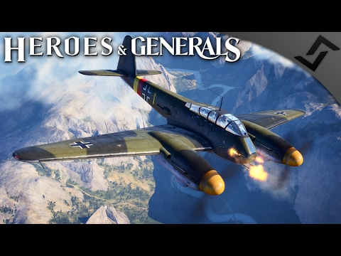 Me 410B-2 Ground Attack! - Heroes and Generals - German Heavy Fighter Gameplay