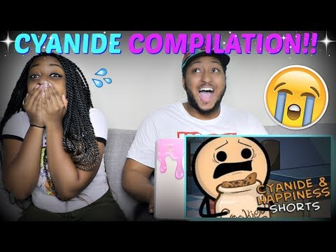 CYANIDE AND HAPPINESS COMPILATION #22 REACTION!!!