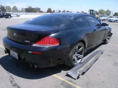 Salvage BMW M6 for sale  YouTube