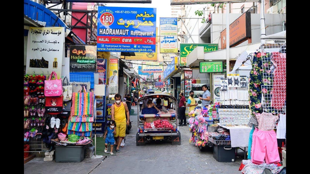 4k 2020 Arab Street Halal Food And Kebabs At Sukhumvit Soi 3 1 Walk From Bts Station Bangkok Youtube