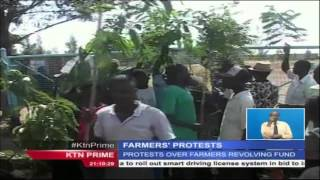 Rice farmers in Nyando hold demonstrations against corrupt leaders