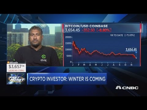 Long, dark winter ahead for crypto, says bitcoin oracle Vinny Lingham
