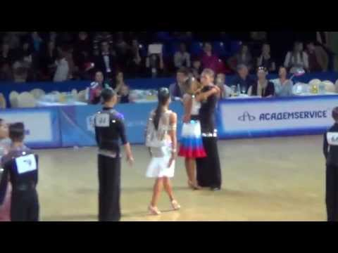 WDSF World Junior II Latin. The Final. Cha-cha-cha.
