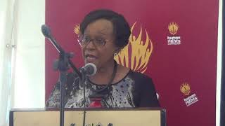 Commissioner Angie Makwetla highlights SAHRC work on the Promotion of Access to Information