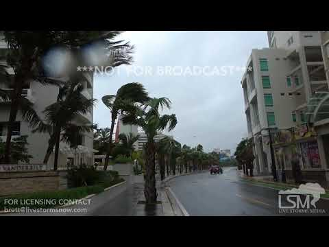 09/06/2017 - San Juan, PR - Hurricane Irma winds getting stronger