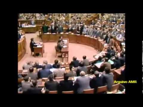 Anibal Cavaco Silva  Segundo Congresso do PSD 1985