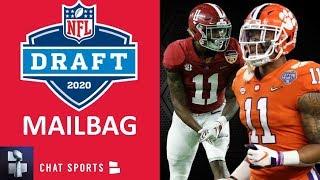 NFL Draft 2020: Trade Rumors, Justin Jefferson, Isaiah Simmons, Henry Ruggs & Tee Higgins? | Mailbag
