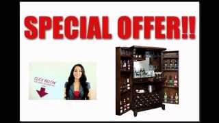Best Price Free Shipping Rogue Valley Wine & Bar Cabinet