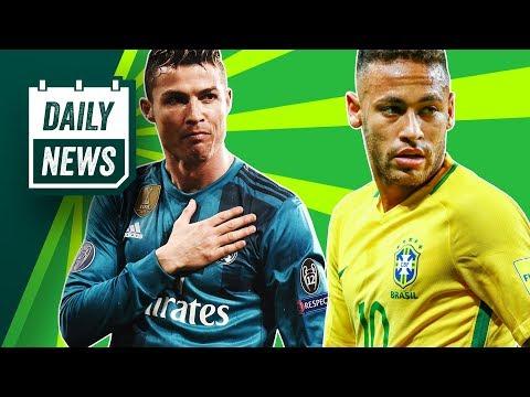 TRANSFER NEWS: Mahrez to Man City, Ronaldo comments on Salah + Neymar World Cup Update