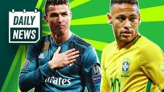 TRANSFER NEWS: Neymar World Cup injury latest, Ronaldo v Salah and Mahrez to Man City