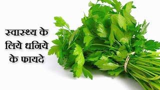 Coriander Benefits For Health In Hindi By Sachin Goyal - धनिये के लाभ @ jaipurthepinkcity.com
