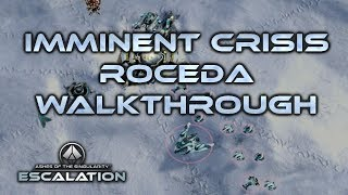 Ashes of the Singularity Escalation Roceda walkthrough Imminent Crisis campaign