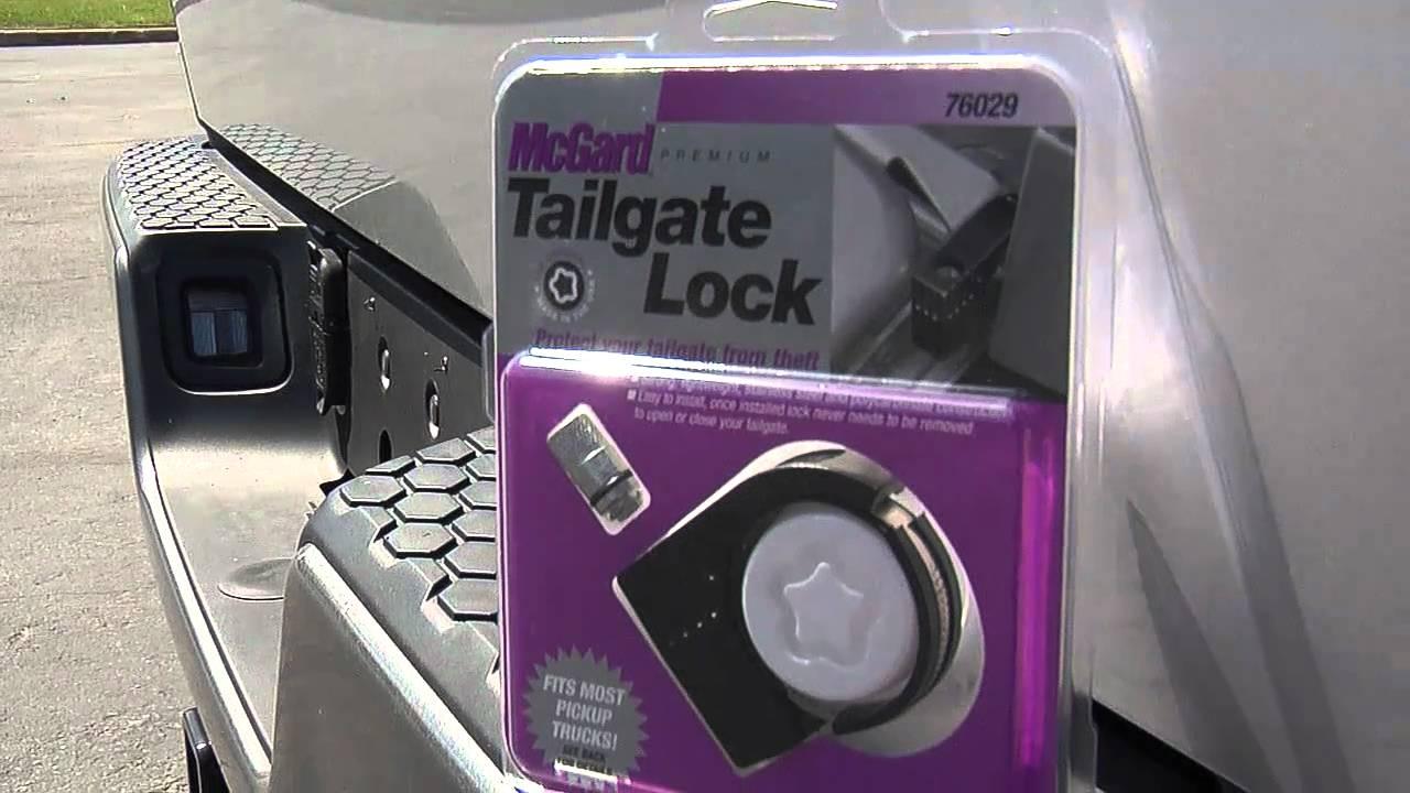 Dodge Pickup Trucks >> McGard Tailgate Lock - YouTube