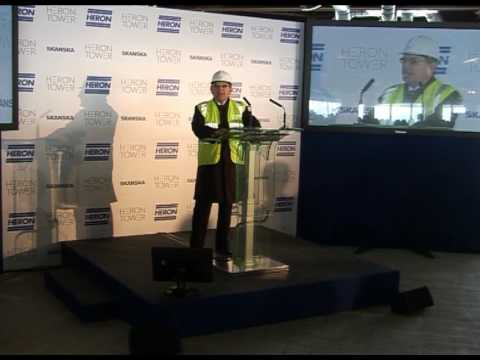 Heron Tower Topping Out Speeches April 2010