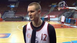 Sport Eagle TV Preview - Bayern Basketball prepare for ratiopharm ulm, Sunday, January 27