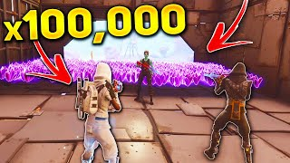 I Took 100,000 SUNBEAM With This NEW SCAM! (Scammer Gets Scammed) In Fortnite Save The World