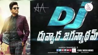 Allu Arjun's New Movie DJ(Duvvada Jagannadham) Launch | Allu Arjun DJ First Look | Eagle Media Works
