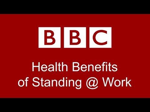 HEALTH BENEFITS of Standing Desks at Work – BBC TV