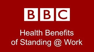 """HEALTH BENEFITS of Standing Desks at Work""  