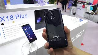 Cubot X18 and X18 Plus