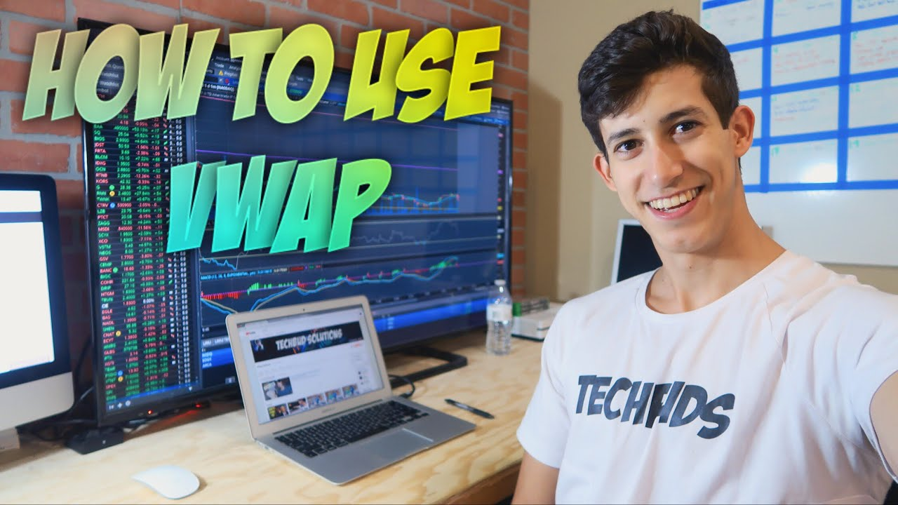 What Is Vwap How To Use It Best Entry Indicator 2017 Youtube
