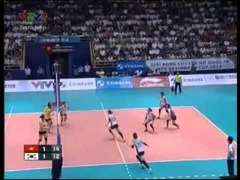 set3 Viet Nam vs IBK Korea VTV Cup 2012