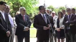 Intervenção do presidente da CMC, Manuel Machado, na homenagem a António Arnaut