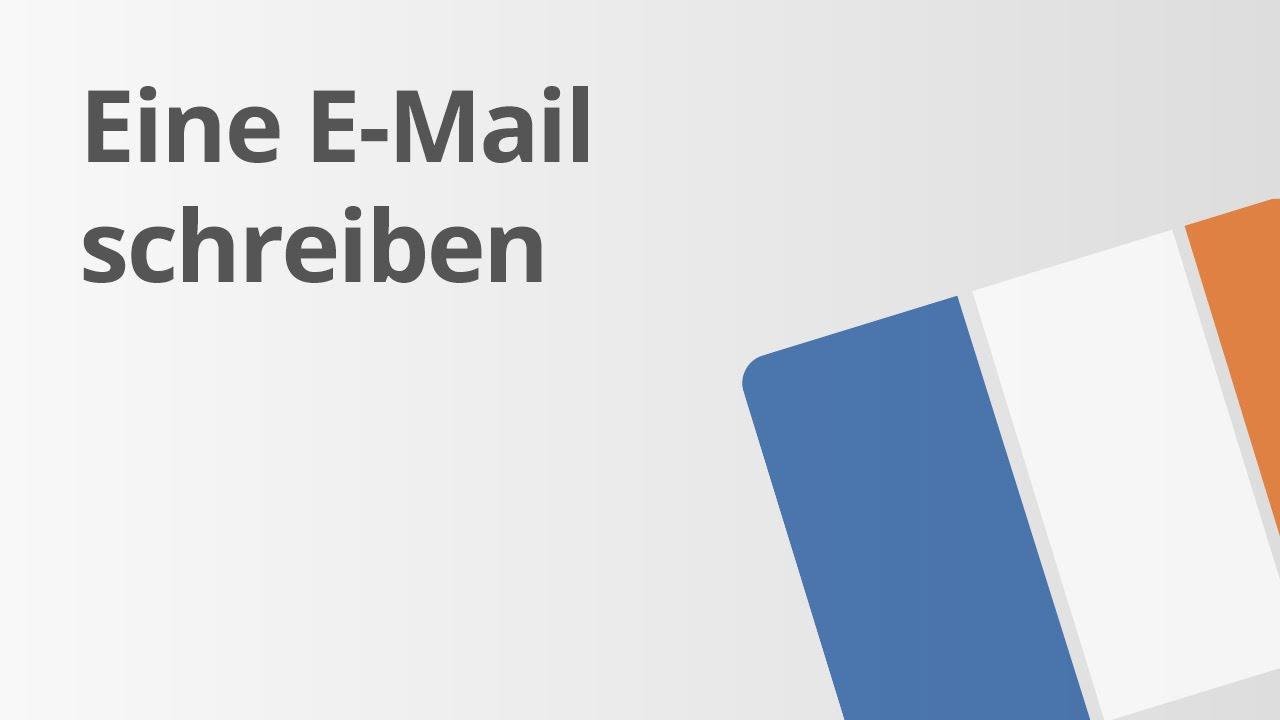 Wie Man Eine E Mail Schreibt Französisch Texte Schreiben Und