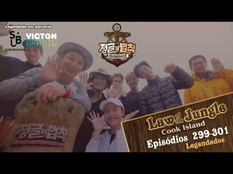 [PT-BR] Law of the Jungle: Cook Island (EP. 299-301)