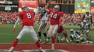 Memorable 49er games from Candlestick Park 1990-94