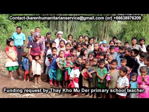 Karen Humanitarian Services (Volunteering Team) Video Document