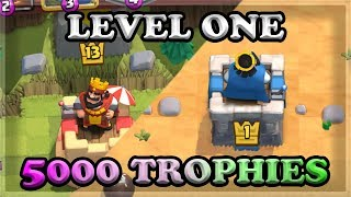 LEVEL ONE ACCOUNT HITTING 5,000 TROPHIES 🍊