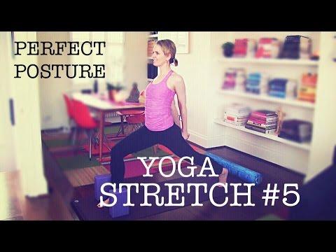 35 min Basic Total Body Yoga Stretch #5 | posture, shoulders, back, legs
