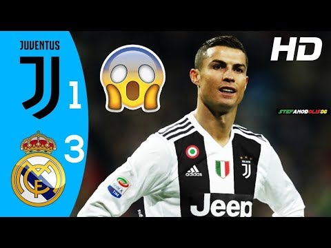 Juventus Vs Real Madrid 1 3 Highlights Goals Icc 2018 2019 Hd Juventus Ronaldo Youtube