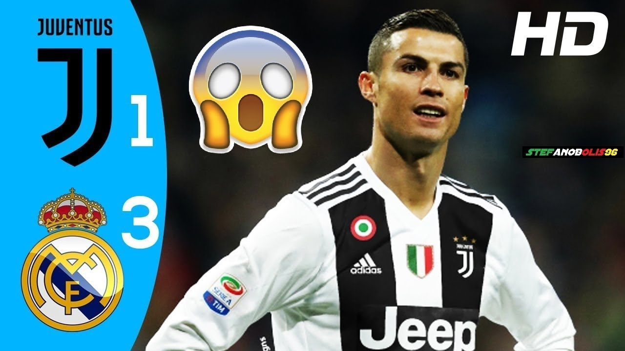 Juventus Vs Real Madrid 1-3 ⚽ Highlights & Goals ⚽ ICC ...