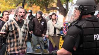 Police Open Fire On Occupy Denver Protesters With Rubber Bullets and Pepper Spray 10/28