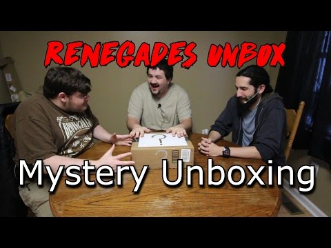 Renegades Unboxing - Mystery Unboxing