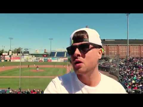 MY DAY AT THE BALLPARK! (Seadogs' Game) VLOG