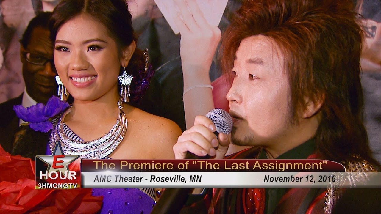 "3HMONGTV EHOUR: Coverage of red carpet event at the premiere of ""The Last Assignment""."