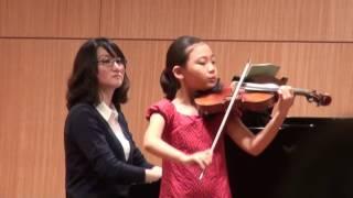 Beriot violin concerto No.9 - 이윤서, 스트라드 콩쿠르 (LEE YOON SEO, 8yrs old)