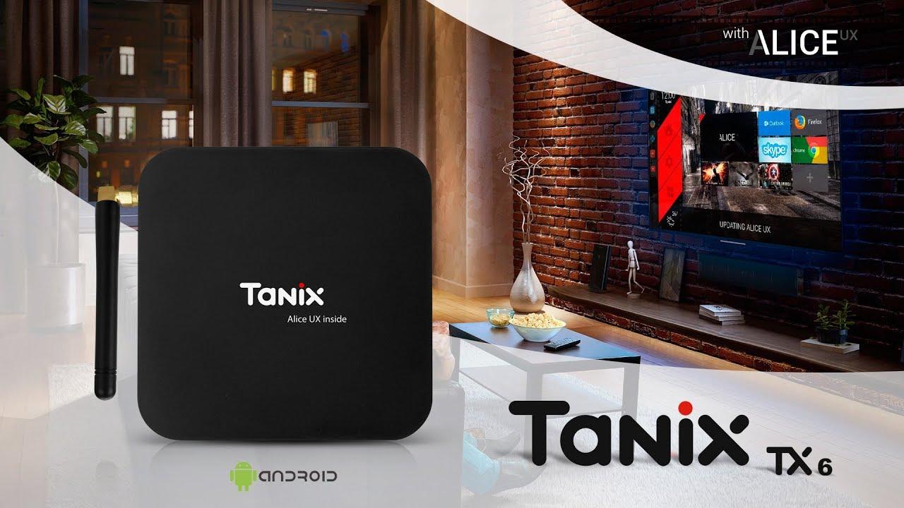🔴 Tanix TX6 - Android TV Box - AllWinner H6 - Dual WiFi - 6K