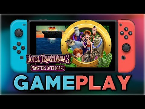 Hotel Transylvania 3 Monsters Overboard   First 35 Minutes   Nintendo Switch