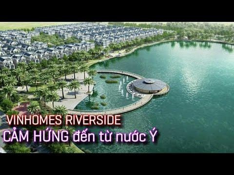 Vinhomes Riverside - Harmony Long Biên | CẢM HỨNG đến từ nước Ý | Xứ Venice trong lòng Hà Nội