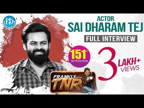 Actor Sai Dharam Tej Exclusive Interview || Chitralahari Movie || Frankly With TNR #151