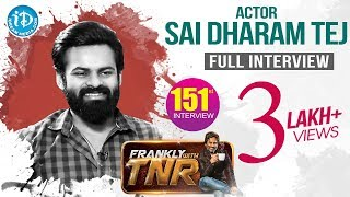 Actor Sai Dharam Tej Exclusive Interview || Chitralahari Movie || Frankly With TNR #151