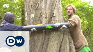 Umweltprotest der Extreme: Aktivisten im Hambacher Forst | Global 3000