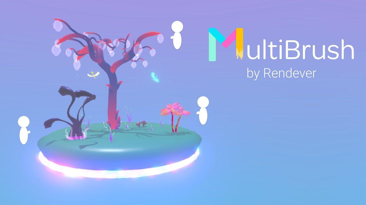 Multibrush - бесплатный Tilt Brush с мультиплеером